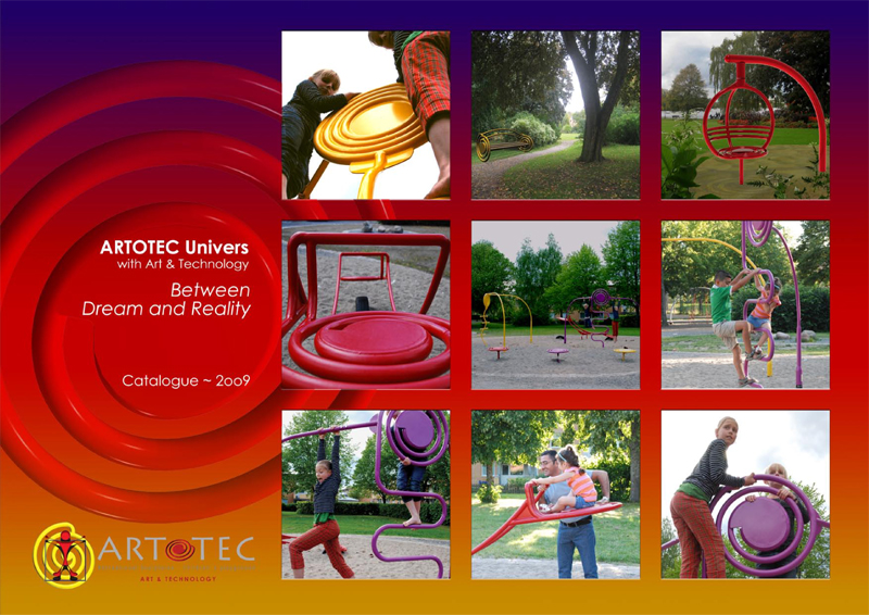 CATALOG - ARTOTEC Collection Recreational scultptures and