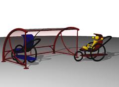ARTOTEC Shelter for strollers BABYDOLINE