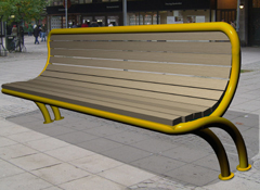 Bench DIRECT-ERGONOMIC