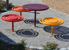 ARTOTEC Picnic table PICNICULYS & Bench PALL-ETT