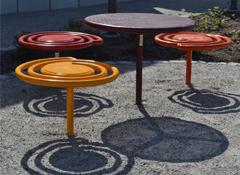 ARTOTEC Picnic table PICNICULYS & Bench PALL-ETT