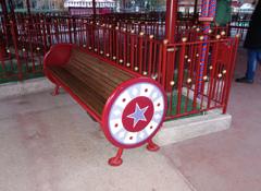 ARTOTEC Bench WAITING-POINT With ergonomic backrest and armrest