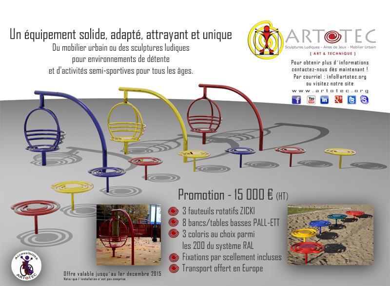 ARTOTEC Promotion - 15 000 € (HT)